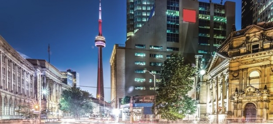 £88 -- Downtown Toronto Stays through March, Reg. £136