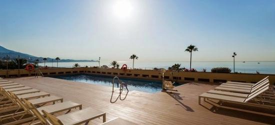 4* Malaga design hotel on seafront promenade
