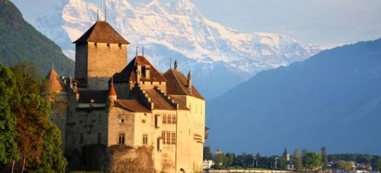 Switzerland / Montreux - Panoramic Views of Lake Geneva at the Royal Plaza Montreux & Spa 5*