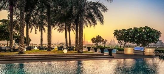 United Arab Emirates / Dubai - Skyline Views from Dubai Creek at the InterContinental Dubai Festival City 5*