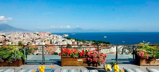 Italy / Naples - Stunning Views over The Bay of Naples at the Grand Hotel Parker's 5*