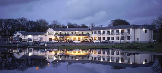 Co. Cavan: 1 to 3 Nights for Two with Full Irish Breakfast at Lakeside Manor Hotel