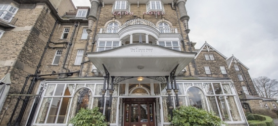 Harrogate: 1-2 Nights for Two with Breakfast, Wine, Late Check-Out, Free Wi-Fi and Optional Dinner at The Cairn Hotel
