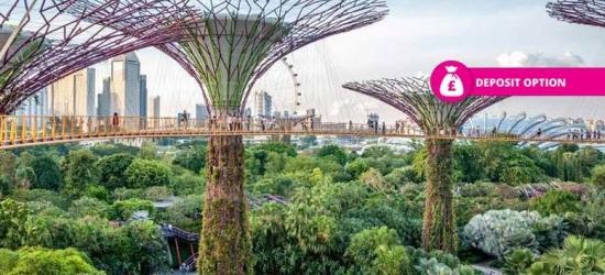 15nt Asia: Dubai, Hong Kong, Bangkok, Singapore & Kuala Lumpur