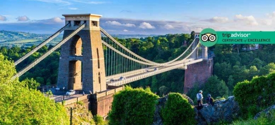 1-2nt 4* Bristol Escape, Breakfast, Drink & Late Check Out for 2