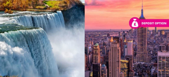 6nt 4* Luxury New York & Niagara Falls Getaway, Transfer