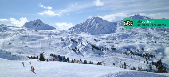 7nt 5* French Alps Ski Trip, Welcome Drink, Ski Pass
