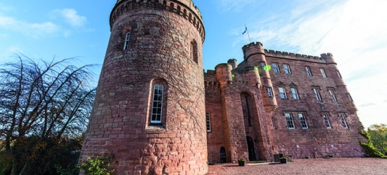 Win a gourmet break in a Scottish castle