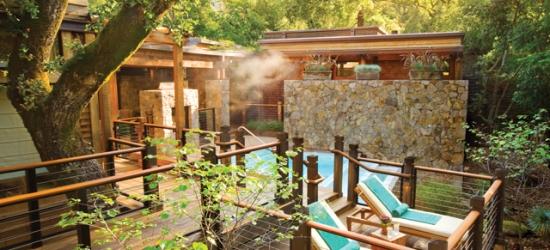 £470 per lodge per night   Calistoga Ranch, Calistoga, Napa Valley, California