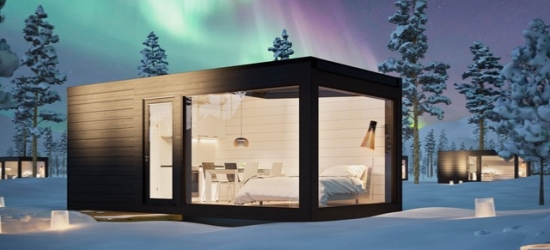 Finnish Lapland adventure with a glass villa stay & excursions