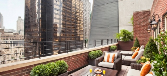 £114 per night | Omni Berkshire Place, Midtown, New York