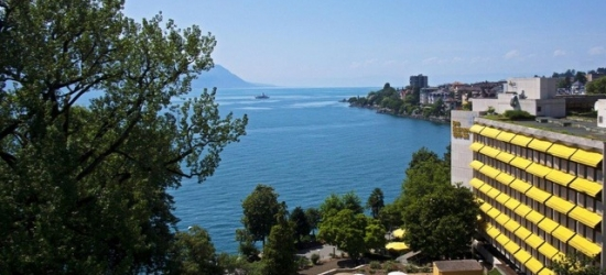 £152 per night | Royal Plaza Montreux & Spa, Montreux, Switzerland