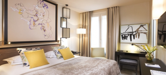 £160 per night | Hotel Balmoral Paris, Paris, France