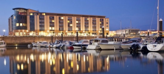 Tranquil Jersey waterside break with car hire, Radisson Blu Waterfront Hotel, Channel Islands