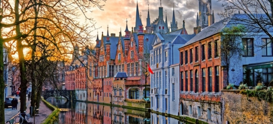 Classic Bruges sojourn with Eurostar or Eurotunnel travel, Hotel The Peellaert, Belgium