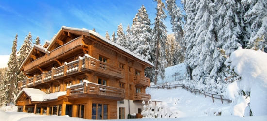 A winter stay at an exclusive lodge owned by Sir Richard Branson with driver service and a wine and cheese tasting