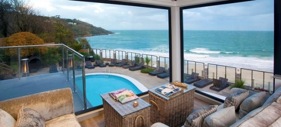A luxe St Ives spa hotel with awarded dining (inc. one dinner)
