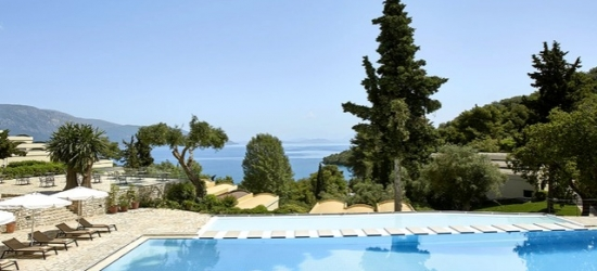 Ultra all-inclusive beachfront Corfu getaway