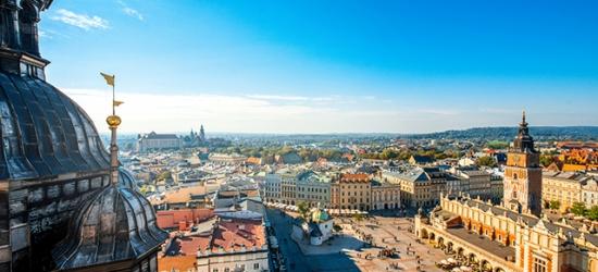 Cultural Krakow getaway with airport lounge access, Krakow, Poland