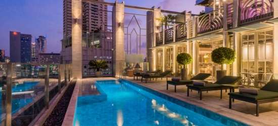 £87 per night | Akara Hotel, Bangkok, Thailand