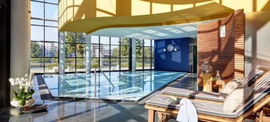 Sublime Spa Hotel with Striking Views  at the Lindner Hotel & Residence Main Plaza 4*