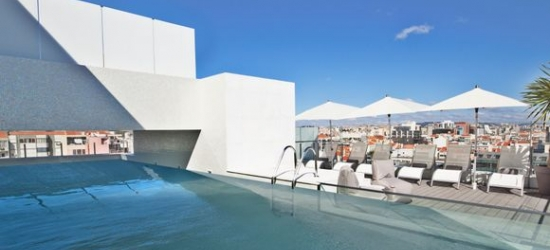 Portugal / Lisbon - Boutique Property with Rooftop Terrace at the Hotel White Lisboa 3*
