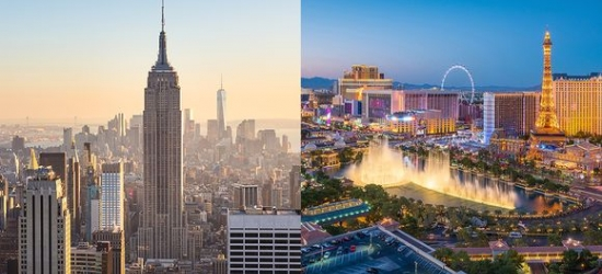 USA / New York & Las Vegas - Unforgettable Twin City Adventure at the Freehand New York 4* & Caesars Palace 4* with a Show