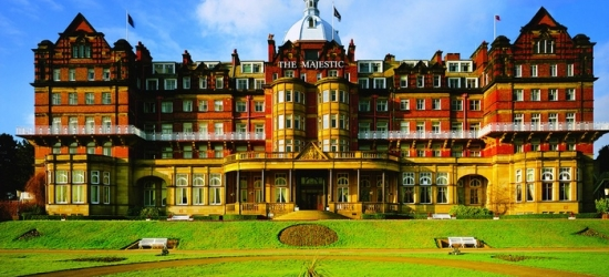 Harrogate: Double, Twin or Deluxe Room for Two with Breakfast, Dinner and Leisure Club Access at 4* Majestic Hotel