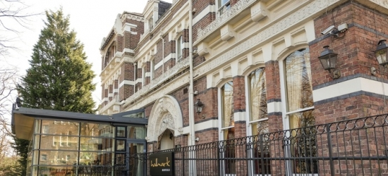 Liverpool: Double Room for Two with Breakfast, Wine and Option for Dinner at Hallmark Hotel Liverpool Sefton Park