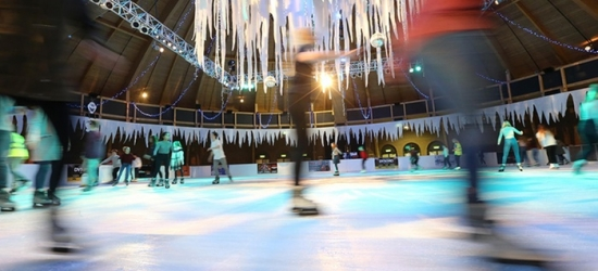 Bournemouth: 1 Night for Two with Breakfast, Dinner, Leisure Access and Optional Ice Skating at The Queens Hotel & Spa