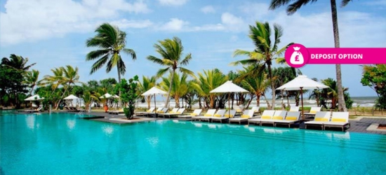 5* Half-Board Sri Lanka Escape  - Daily 3-Hour 'Open' Bar!