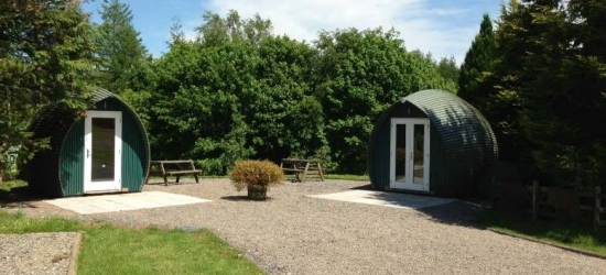2nt Troutbeck, Lake District Glamping Getaway for 2
