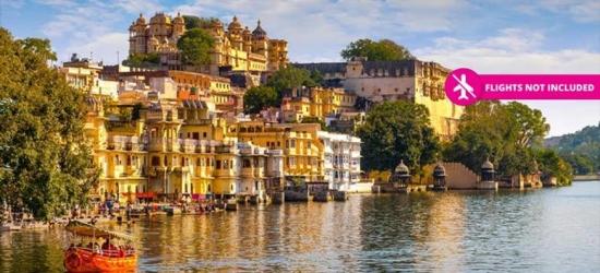 12-Day India Trip, Taj Mahal, Elephant Ride, Breakfast & Transfers