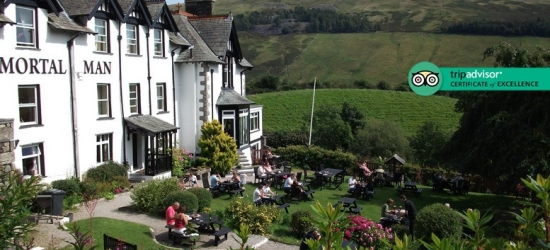 1-2nt Lake District Escape & Breakfast for 2 @ The Mortal Man