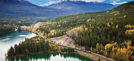 Win a cruise to Alaska & Canadian Rocky Mountain rail journey