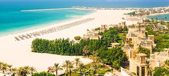 3nt 5* UAE beach & golf resort stay