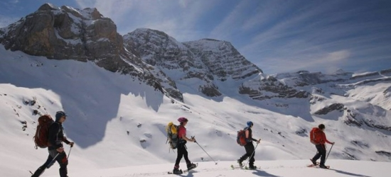 Win a winter snowshoeing holiday in the French Pyrenees