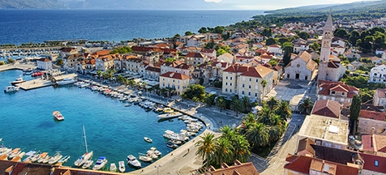Scenic Croatia island holiday