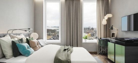 £89 per night | Clarion Hotel The Hub, Oslo, Norway