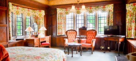 £159 per night | Lewtrenchard Manor, Okehampton, Devon