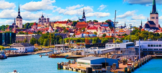 Explore the colourful capitals of the Baltics & Scandinavia