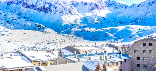 5* scenic Andorra ski holiday with passes & optional equipment, Holiday Inn Andorra, Grandvalira