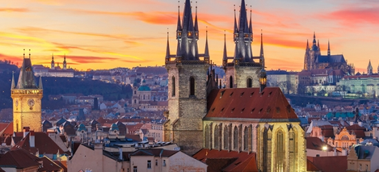 Prague, Vienna & Budapest city-hopping break