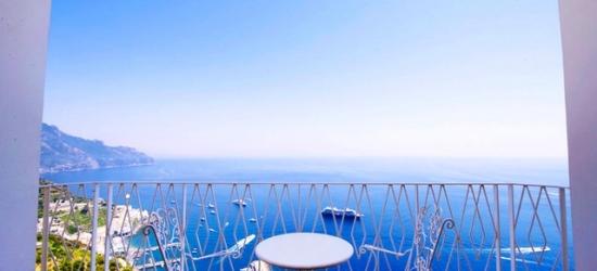 Amalfi Coast holiday at an iconic hotel with sea views