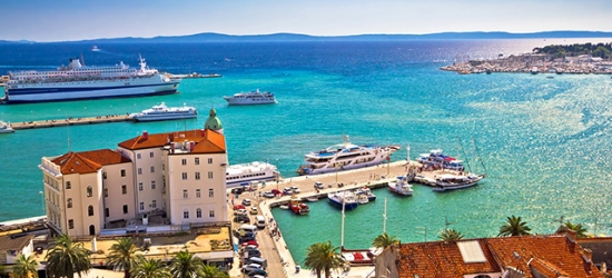 Boutique Croatia beach holiday at a modern eco-friendly hotel, Hotel Split, Podstrana