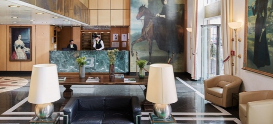 £88 per night | Living Hotel Prinzessin Elisabeth, Munich, Germany