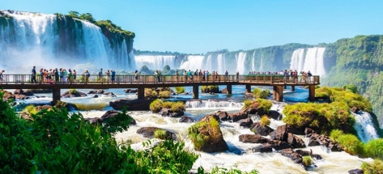 Dazzling Brazil tour with city, beach & Iguazú Falls stays, São Paulo, Iguazú, Rio de Janeiro & Buzios