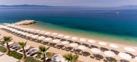Croatia summer holiday at a sleek beachfront resort