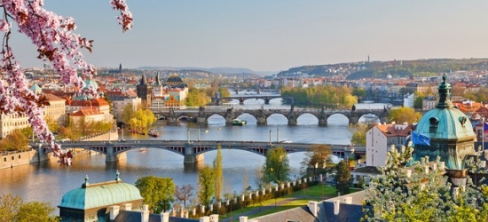 Elegant riverside Prague break
