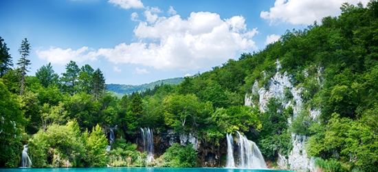 Croatia summer break near the stunning Plitvice Lakes
